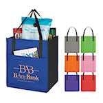 Grocery Tote Bags with Pocket